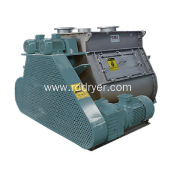 Horizontal Double Shaft Paddle Mixer