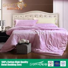 2018 novo estilo de seda suave 100% tecido de bambu conjunto de cama