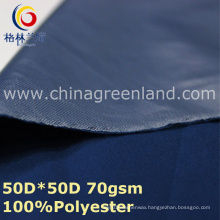 Polyester Pongee Plain Dyeing Spandex Fabric for Jacket Blouse (GLLML338)