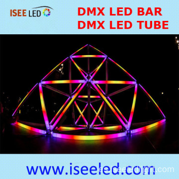 Led DMX RGB al aire libre tubo digital