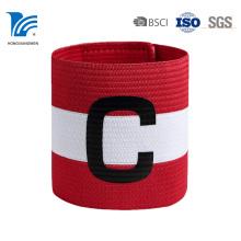 Brazalete deportivo de tela impresa con logotipo de alta calidad al por mayor