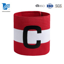 Großhandelsqualitäts-Logo gedrucktes Gewebe-Sport-Armband
