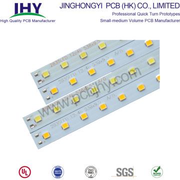 Panneau de carte en aluminium pour la lumière de tube de LED