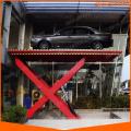 electric scissor lift for car parking