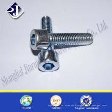 Verzinkt TS16949 ISO9001 DIN912 Innensechskantschraube