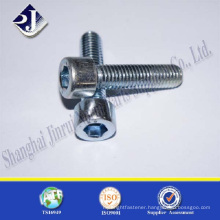 zinc plated TS16949 ISO9001 DIN912 hex socket head cap screw