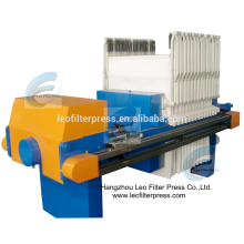 Leo Filter Press CE ISO SGS Hydraulic Pressing Filter Press