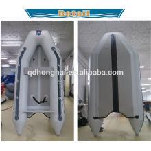 yate de pesca de bote de PVC con bote inflable CE