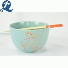 Heißer Verkauf Mode-Stil Keramikschale mit Stäbchen