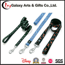 Custom Quality Silkscreen Printing Polyester Dog Leash
