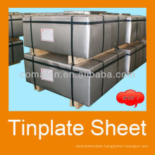 prime MR electrolytic food tinplate sheet 2.8/2.8 tinning bright finish T4CA for food can production