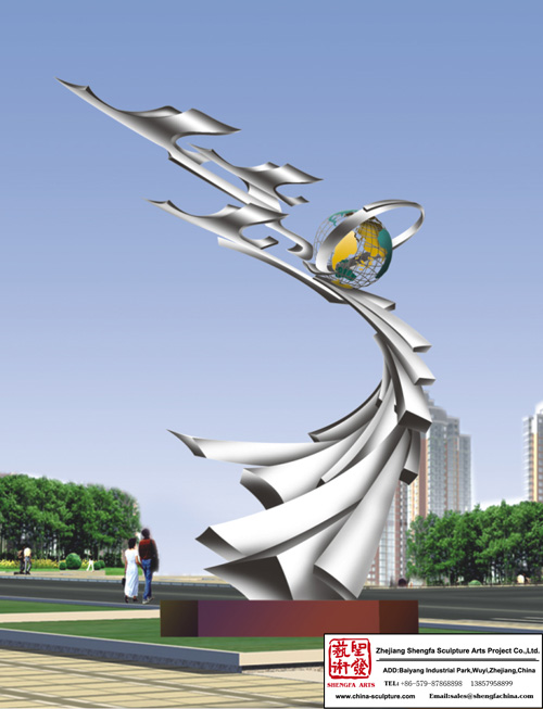 Decoration Stainless Steel Sculpture