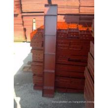 plegable y fácil para malla de encofrado de andamios de aluminio instalado