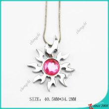 Rosa Dimond Sun Halskette (PN)