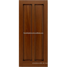 2-Panel Mahagoni Hartholz-Tür-design