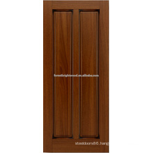 2- panel mahogany hardwood door design