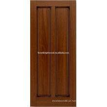 projeto da porta de madeira de mogno 2-painel