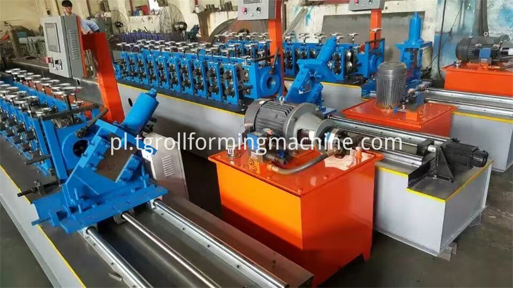 High Speed U Channel Roll Forming Machine