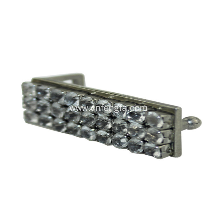 Rectangle shape belt buckle for girl with high quality