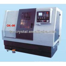 slant guideway cnc lathe CK-36 cnc slant bed lathe