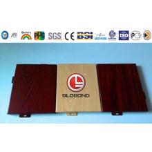 Globond plus panneau composite en aluminium PVDF (PF098)