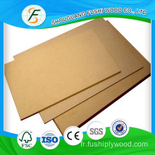 E1 Grade 3mm Plain board en MDF