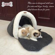 Lit lavable en gros chaud de chien de lit de fenêtre de chat chaud et lavable
