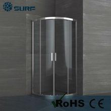 2016 Eurpean hot sale small size sliding fiberglass shower enclosures