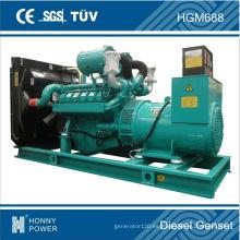 Diesel / gas de la marca de fábrica de Googol 2013, generador de 688kVA / 500kW