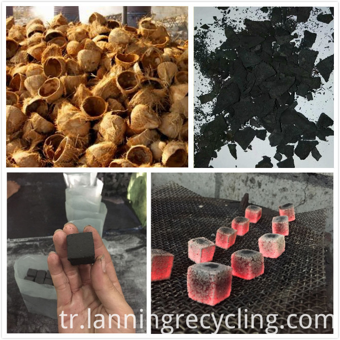 coconut shell to charcoal pyrolysis machine8