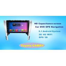 Автомобильный DVD-плеер с системой Android для Toyota Camry 10,1-дюймовый сенсорный экран с Bluetooth / TV / MP4