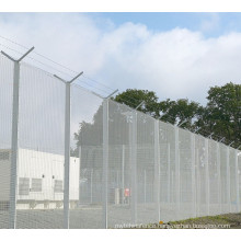 PVC Coated Wire Mesh Security Fence Y Post (Anjia-056)