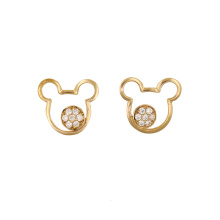 Teddy Bear Stud Earring