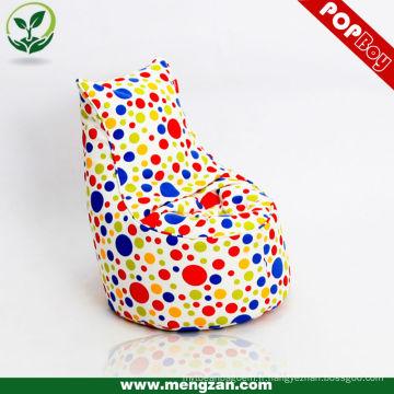 Canapé-lit en coton unique en coton pour enfant, tissu en coton, sac en haricot