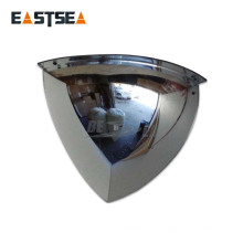 China Unbreakable Quarter Dome Multi Angle Mirror Factory