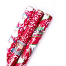 Christmas Reversible Wrapping Paper