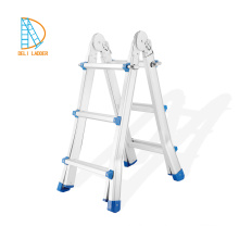 Aluminum multifunction telescopic ladder 4X4