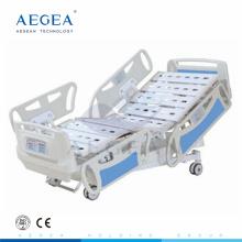 АГ-BY008 качественный Поставщик 5-функции электрическая icu номер домашнего медицинского кровать