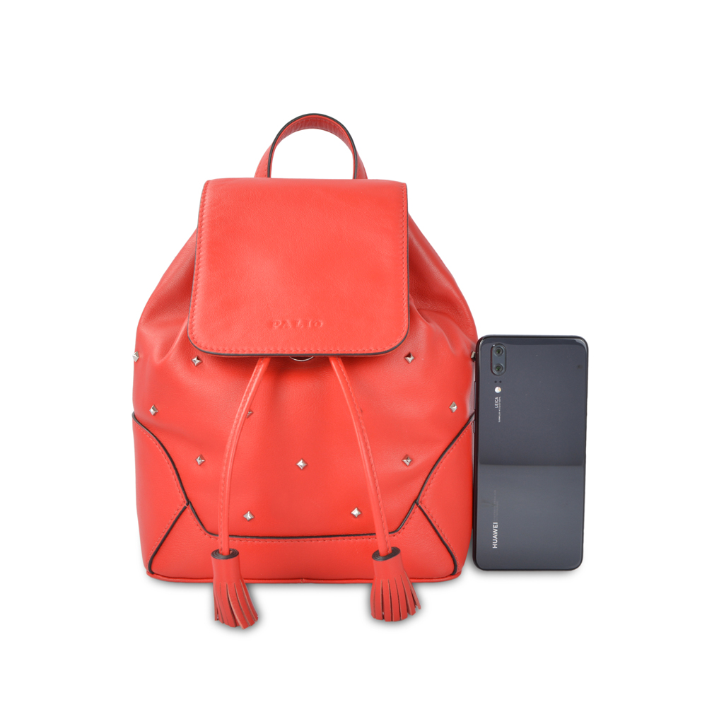new design classic leather backpack