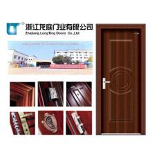 Porta de madeira de aço interior (LTG-118)
