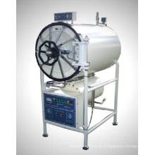 Esterilizador de vapor de presión cilíndricos horizontales