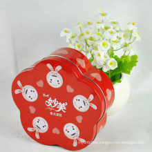 Metal Tin Case, Packaging Box for Chocolate