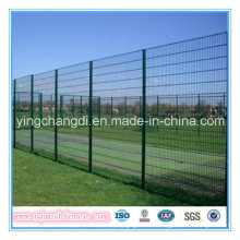 PVC+Coated+Anti-Climb+358+Fence+%2F12.7%2A76.2mm+Mesh+Security+Fence+%28Factory%29