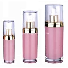 15ml 30ml 60ml 120ml recipientes e embalagens ovais de cosméticos acrílicos coloridos