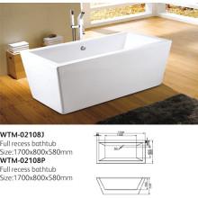 Klassische tragbare Badewanne für Erwachsene Wtm-02108