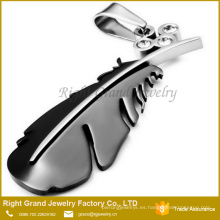 Colgante plateado oro negro del encanto del precio de fábrica del fabricante de China colgante de la joyería