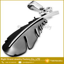Китай Заводская Цена Любовник Кулон Золото Черный Позолоченные Ожерелье Подвески Ювелирные Изделия Кулон