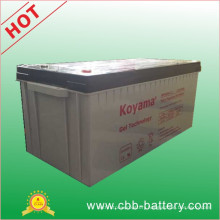 12V200ah Gel Battery Marine Gel Battery, Solar Gel Battery, Deep Cycle Gel Battery, Lead Acid Battery