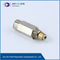 Air-Fluid Lubrication Systems Fittings Check Valve.