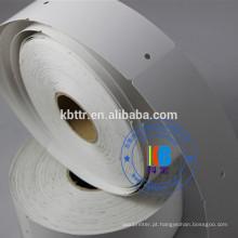 Impressora de código de barras impressão de transferência Térmica papelão papelão pendurar papel de código de barras personalizado nome tags